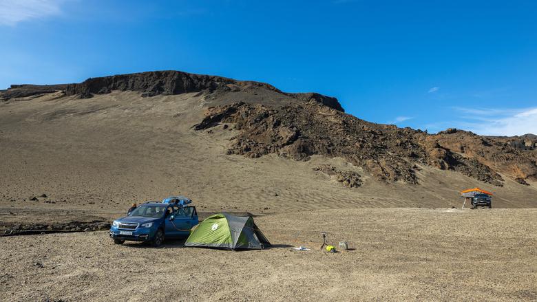 Askja, IJsland - Askja camping