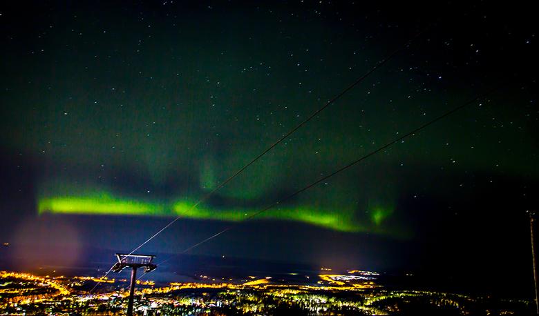 Lapland 9 Joop Lankhaar - Noorderlicht Kittilä Lapland (Finland)