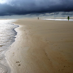 Storm op Borkum