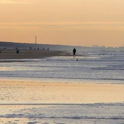 Winterdag aan zee.