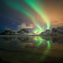 Skagsanden, Lofoten, Norway