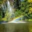 Utrecht-Julianapark Fontein met regenboog_2280
