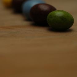 Gekleurde pinda's