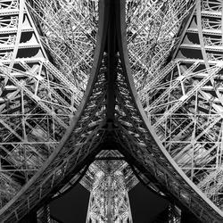 Monochrome Eiffeltoren