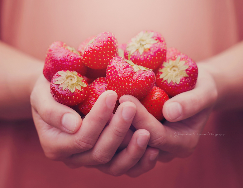 If you keep my secret, this strawberry is yours ...