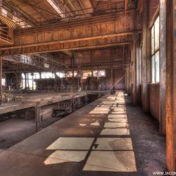 Verlaten oude staalfabriek (6)
