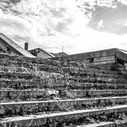 Vervallen trap Linnahall