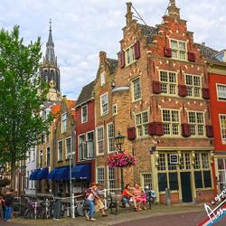 De Voldersgracht in Delft