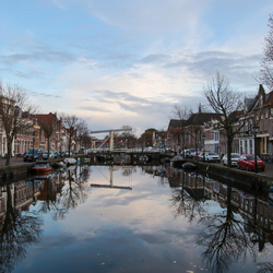 Voor de avond valt in Alkmaar