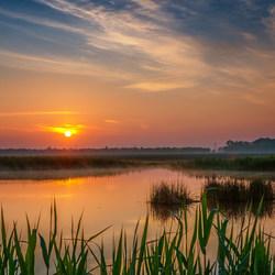 Sunrise in Schokland