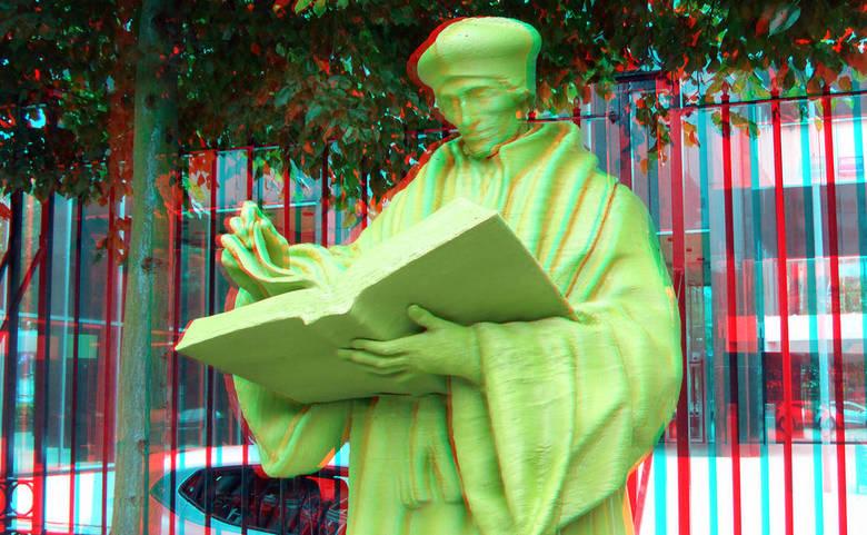 Statue Erasmus Schielandshuis Rotterdam 3D - Statue Erasmus Schielandshuis Rotterdam 3D