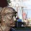 Medewerker rijkswerf in brons