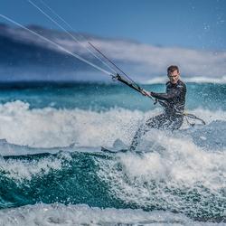 Kitesurfer Lanzarote