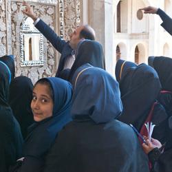 schooluitje in Iran