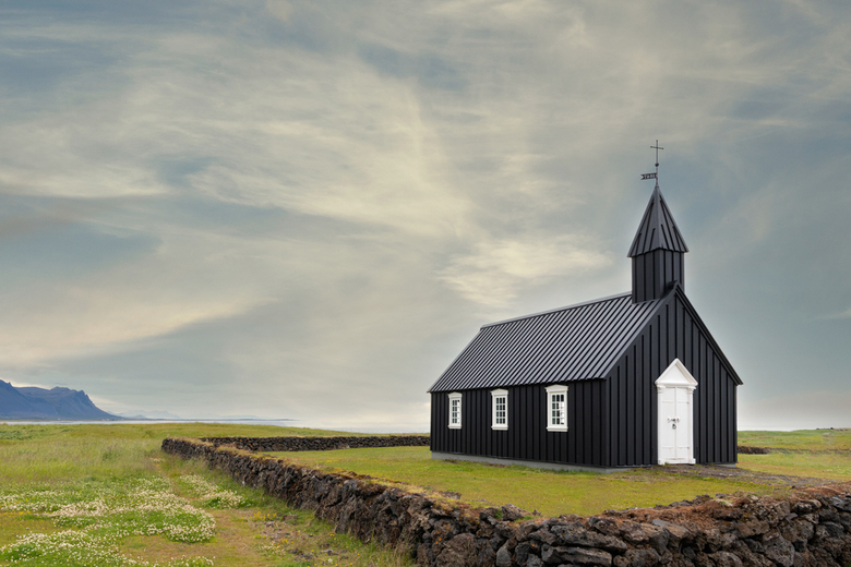 The Black Church - Budir, IJsland