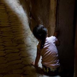 Kind in licht