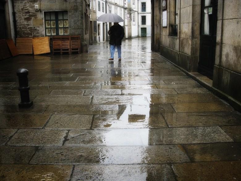 Camino 2 - Ik bleef nog vier dagen in Santiago, vier dagen met alleen maar regen.<br /> Gelukkig is er veel te zien in die stad en een deel ervan is