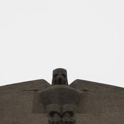 Big bird on a building