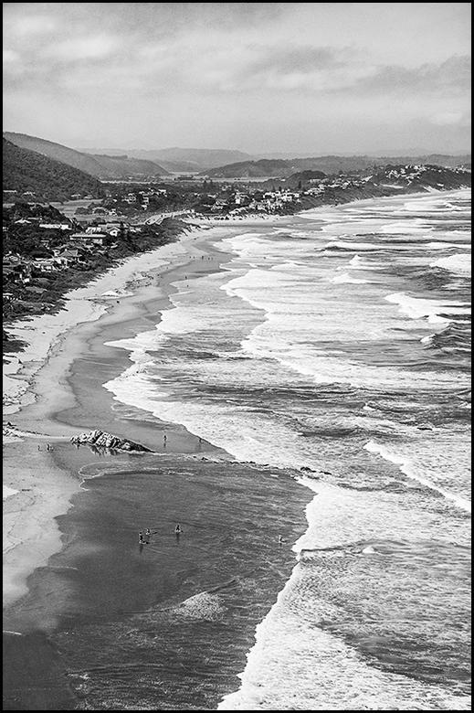 South-Africa 175 - Zuid-Afrika heeft een zeer lange kustlijn en dus ook stranden. Op heel wat plekken kun je je als surfliefhebber dan ook behoorlijk