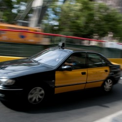 Barceloneese taxi