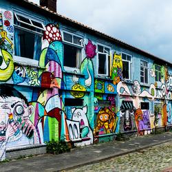 Graffiti aan de Havendijk in Den Bosch