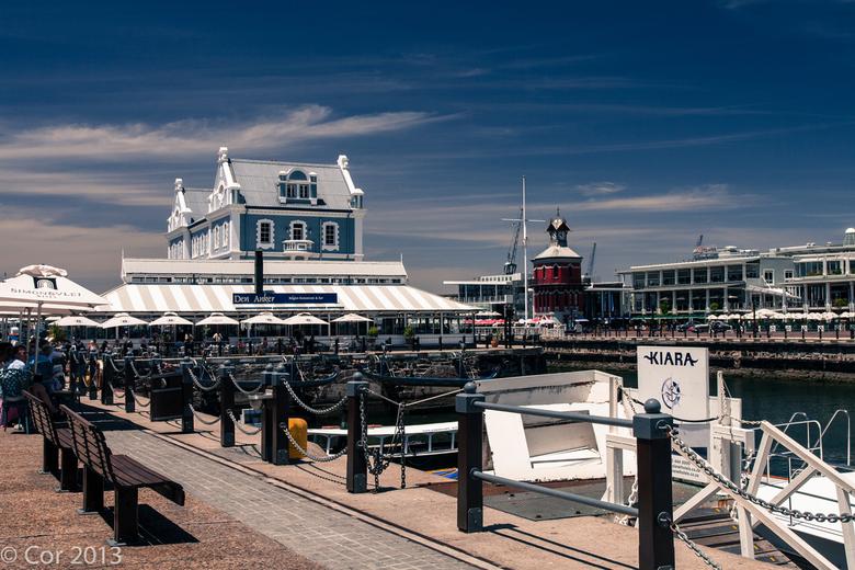 """Kaapstad - Kaapstad Waterfront<br /> Even wat drinken bij Den Anker <img  src=""""/images/smileys/smile.png""""/>"""