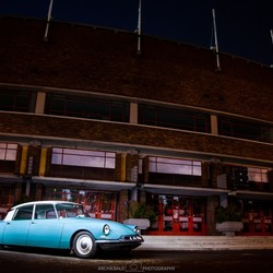 Citroen DS Lightpainting