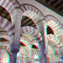 Mezquita Cordoba Spain 3D