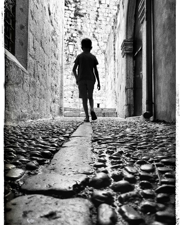 Streets of Dubrovnik - Dubrovnik....zijstraatje...
