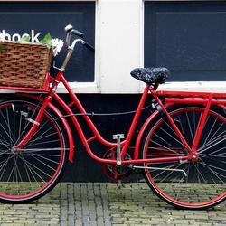 Pak vaker de fiets, niet deze natuurlijk