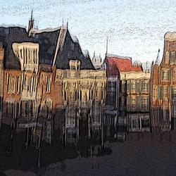 Haarlem, stad in het glas