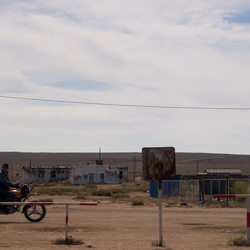 Mongoolse straatbeeld