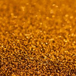 Gouden glitter