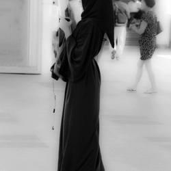 Thai Girl in Black & White