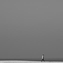 eenzame wandelaar