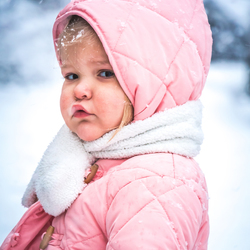 sneeuwportret