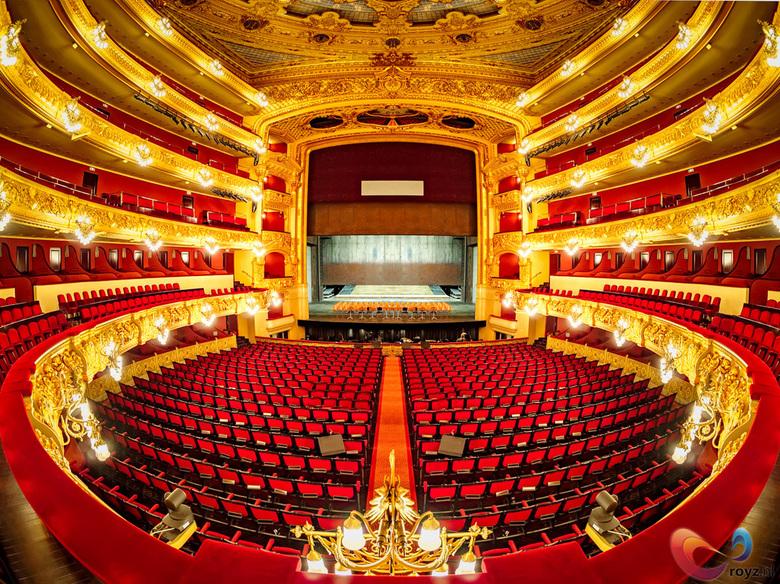 Barcelona - Liceu Theater in Barcelona