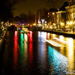 Nieuwe herengracht - Amsterdam Light Festival