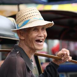 Glimlach in Thailand