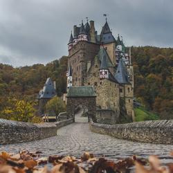 Burg Eltz, Kasteel in west Duitsland.
