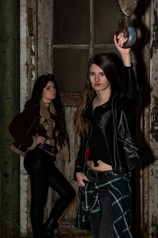 Urban shoot met modellen -