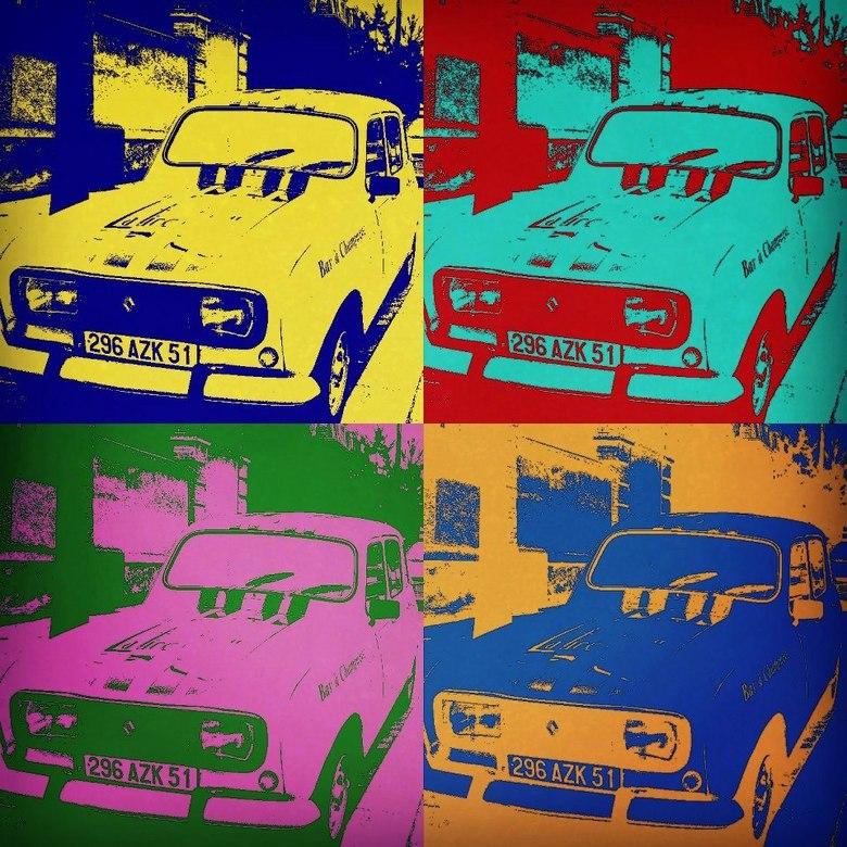 Popart style - Renault Popart style<br /> <br /> Deze foto is genomen met mijn HTC One X en vervolgens ook hiermee bewerkt.