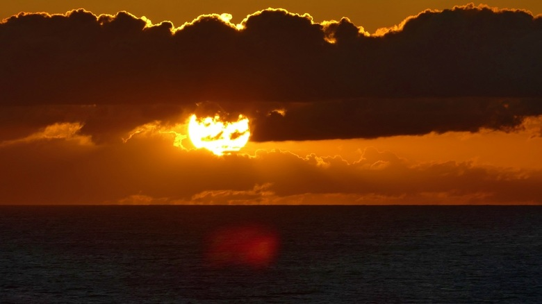 Hawaii  zonsondergang -
