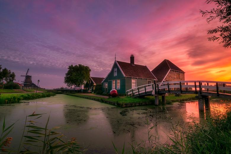 Zaanse beauty - Prachtige ochtend in Zaanse Schans.