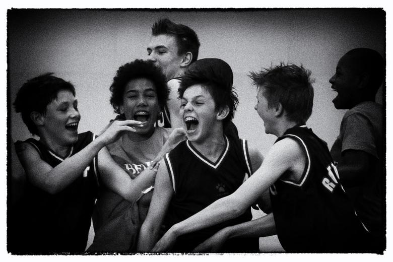 Kampioen - Rotterdam Basketbal U14 kampioen van Nederland.