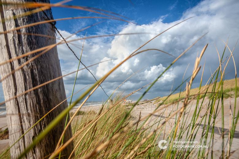 Uitwaaien langs de kust