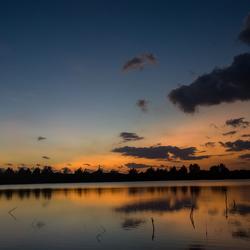 Zoutwatermeer Gili Meno, Indonesië