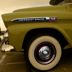 classic chevy pick up truck