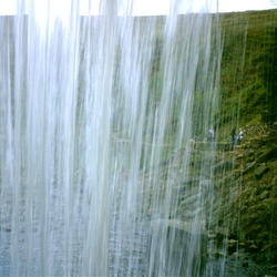 onder waterval