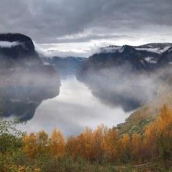 Fjordenlandschap